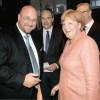 Andreas Schrobback ist sich einig mit Bundeskanzlerin Dr. Angela Merkel bei der Rolle des Mittelstandes der Wirtschaft