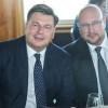 Spargelessen der Berliner Pressekonferenz mit Andreas Schrobback