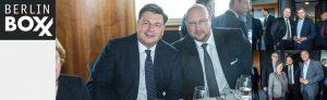Berliner Pressekonferenz mit Andreas Schrobback