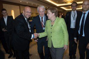 Wirtschaftstag der CDU 2017 mit Frau Dr. Angela Merkel und Herrn Andreas Schrobback